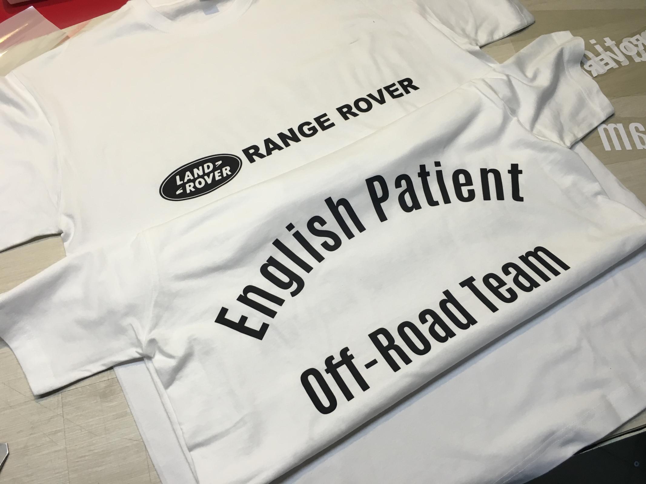 Off-Road Team egyedi pólók
